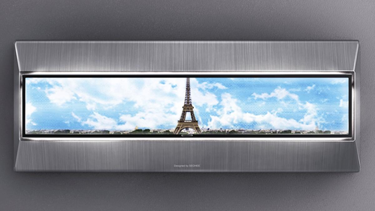この「デジタルウィンドウ」があれば、窓がなくても外にいる感覚になれる。