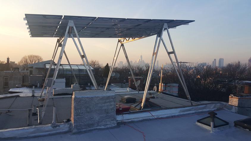 高さ3mの「ソーラーパネル」が、ブルックリンで好評なワケ