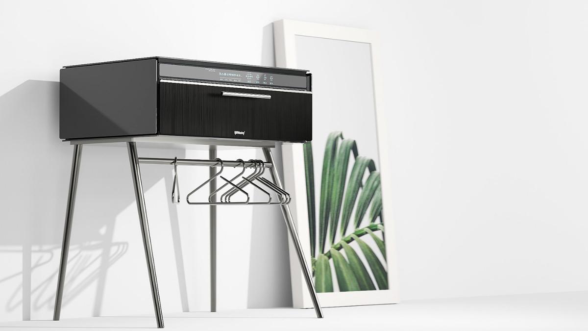 未来のカタチ!?食洗機みたいなテーブル型「洗濯機」