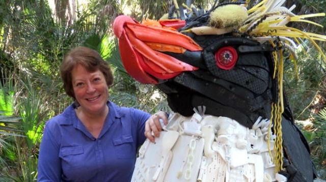 海洋プラスチックゴミ アート