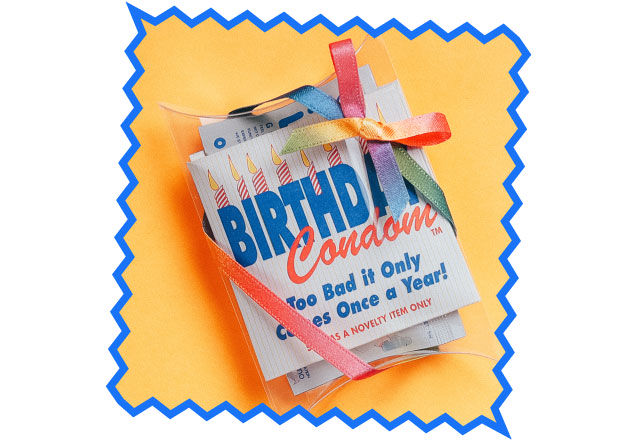 HAPPY BIRTHDAY CONDOM GIFT