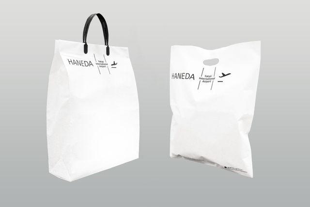 羽田空港Bio LIMEX手提袋