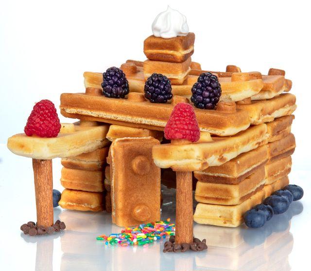 Building Brick Waffle Makerの使用例