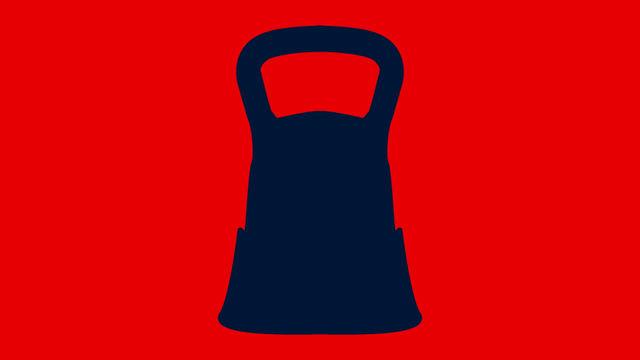 ボタン一つで重さを変えられるダンベル