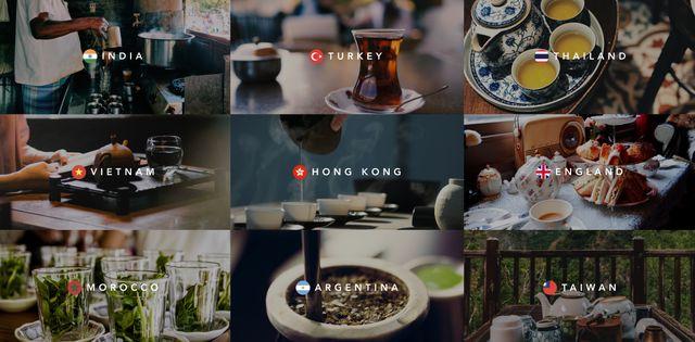お茶の定期便サービス「Tea(ティー)」 世界のお茶のイメージ